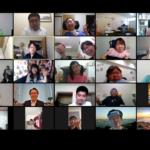 市民向け改正バリアフリー法の学習会で参加者が写っていまるZoom画面